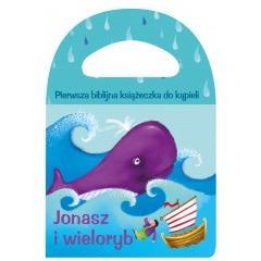 Jonasz i wieloryb. Piszcząca książeczka do kąpieli
