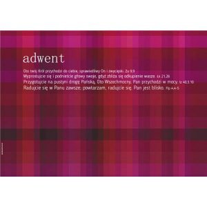 Plakat Adwent 2017 - kratka