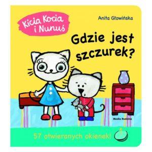 Kicia Kocia i Nunuś - Gdzie jest szczurek